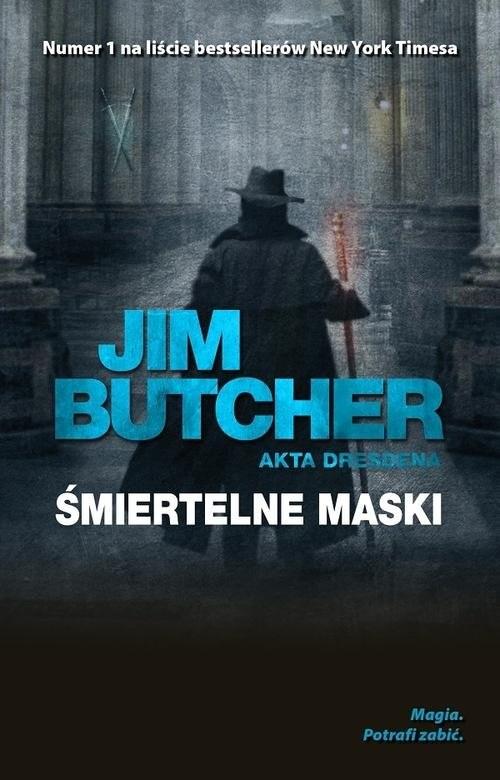 okładka Akta Dresdena Śmiertelne maskiksiążka      Jim Butcher