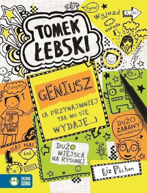 okładka Tomek Łebski Geniusz Tom 10książka      Pichon Liz