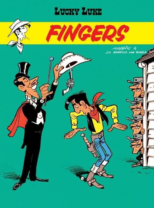 okładka Lucky Luke Fingersksiążka      Banda Lo Hartog Van