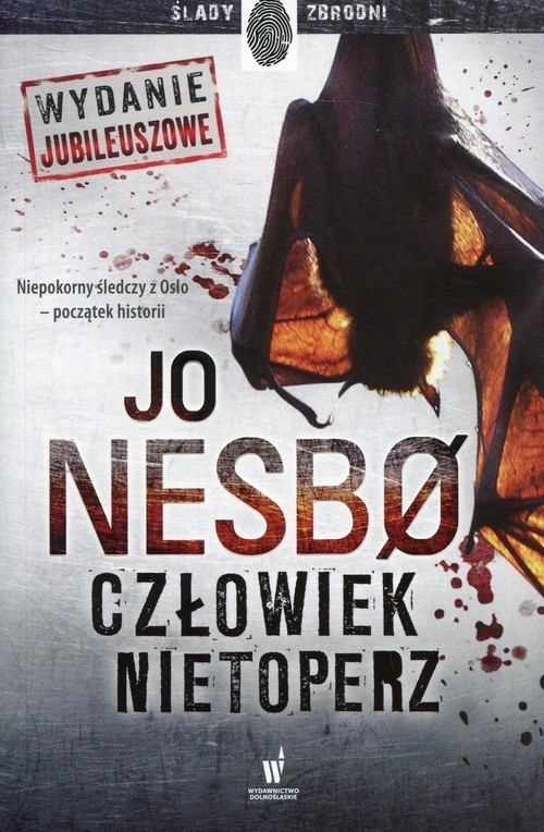 okładka Człowiek nietoperzksiążka      Jo Nesbo