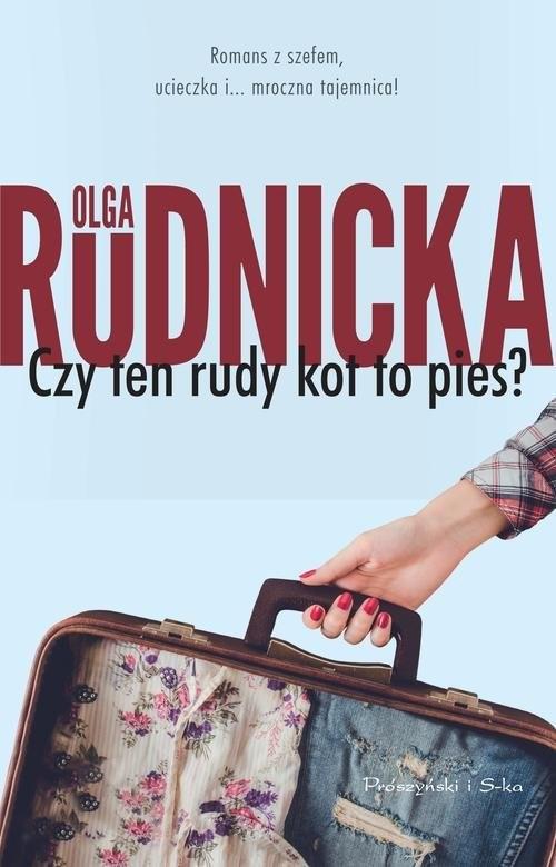 okładka Czy ten rudy kot to pies?książka      Olga Rudnicka