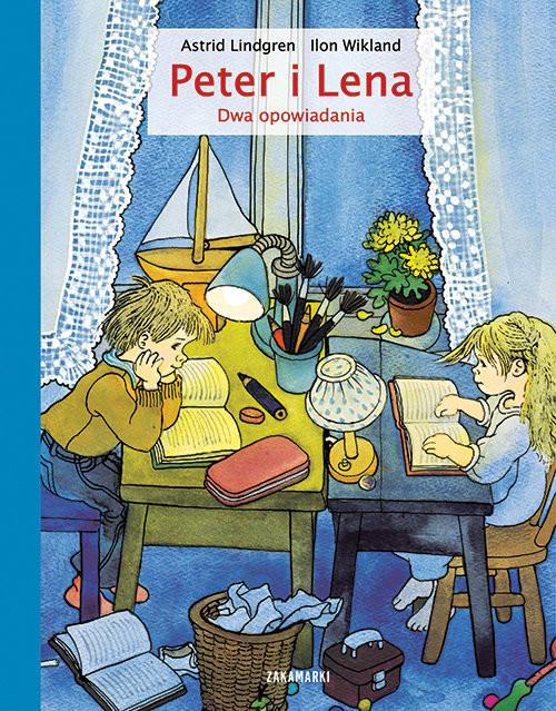 okładka Peter i Lena Dwa opowiadaniaksiążka      Astrid Lindgren