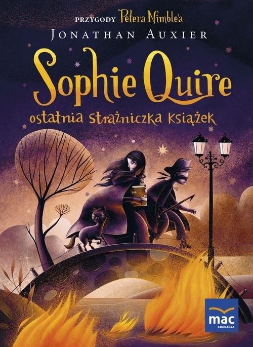 okładka Sophie Quire ostatnia strażniczka książekksiążka |  | Jonathan Auxier
