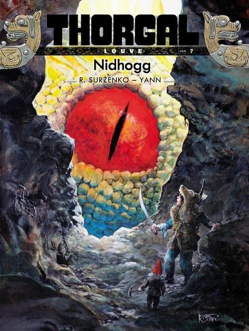 okładka Thorgal Louve Nidhogg Tom 7książka      Yann Yann, Roman Surżenko