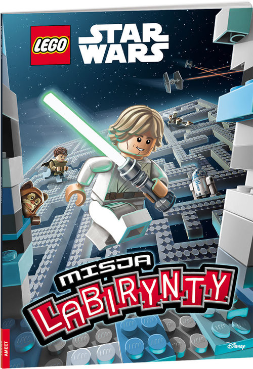okładka Lego Star Wars Misja labirynty LMA-31książka |  | Opracowanie zbiorowe