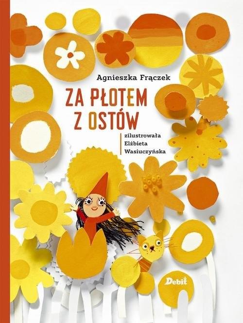 okładka Za płotem z ostówksiążka      Agnieszka Frączek
