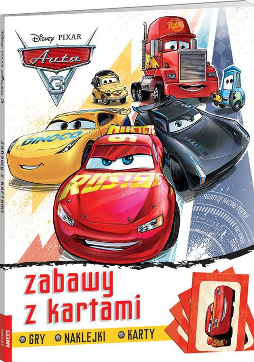okładka Auta 3 Zabawy z kartami FBD-7książka     