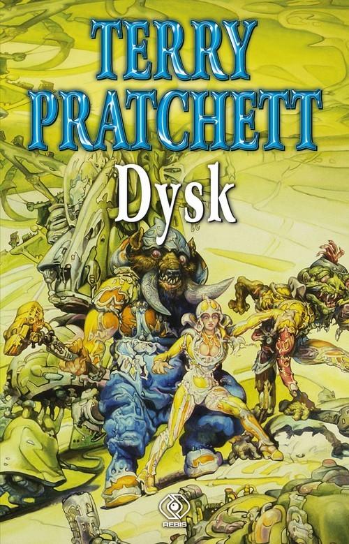 okładka Dyskksiążka      Terry Pratchett