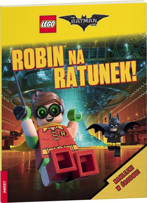 okładka Lego Batman Movie Robin na ratunekksiążka |  | Opracowanie zbiorowe
