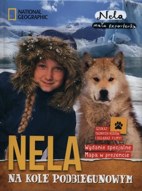 okładka Nela na kole podbiegunowym + mapaksiążka |  | Reporterka Nela Mała