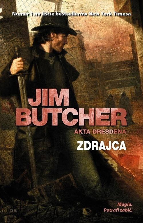 okładka Zdrajca Akta Dresdenaksiążka |  | Butcher Jim