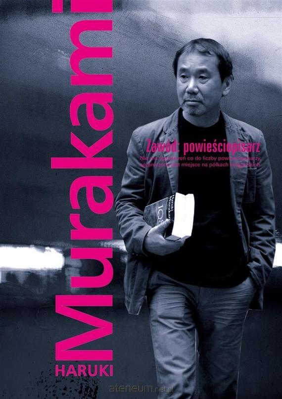 okładka Zawód: powieściopisarzksiążka      Haruki Murakami