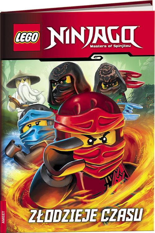 okładka Lego Ninjago Złodzieje czasuksiążka     