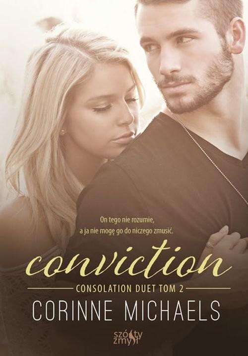 okładka Conviction Consolation duet Tom 2książka      Michaels Corinne
