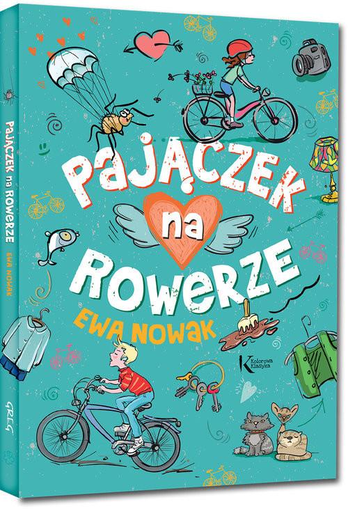 okładka Pajączek na rowerzeksiążka      Ewa Nowak