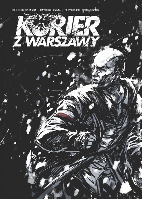 okładka Kurier z Warszawyksiążka      Mariusz Urbanek, Mateusz Palka