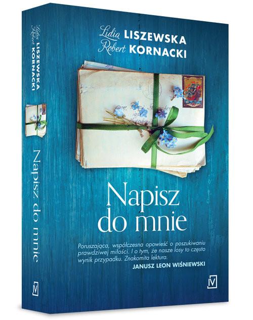 okładka Napisz do mnieksiążka      Lidia Liszewska, Robert  Kornacki