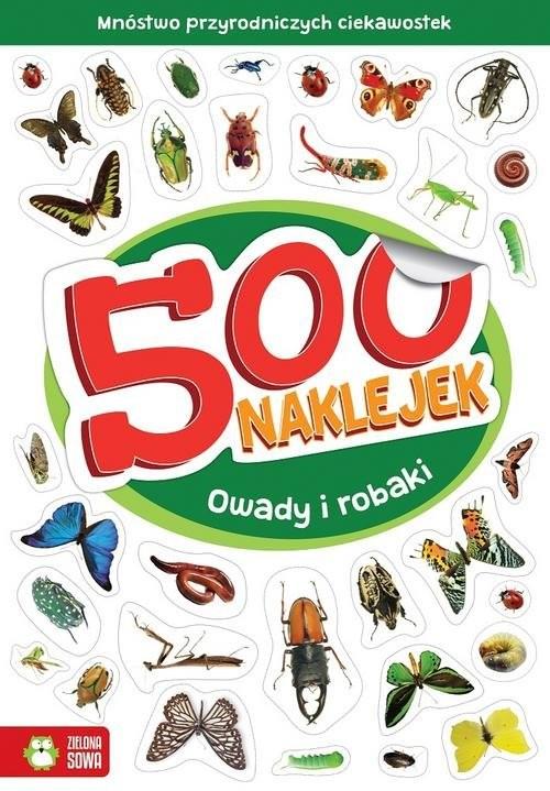 okładka 500 naklejek Owady i robakiksiążka |  |
