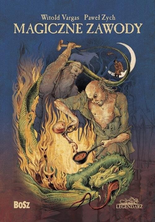 okładka Magiczne zawody Kowal, czarodziej, alchemikksiążka |  | Witold Vargas