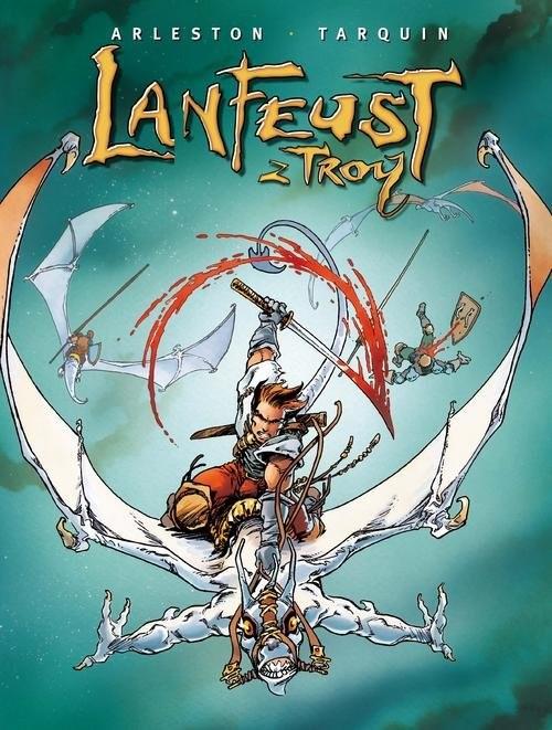 okładka Lanfeust z Troy Tom 2książka      Christophe Arleston, Didier Tarquin