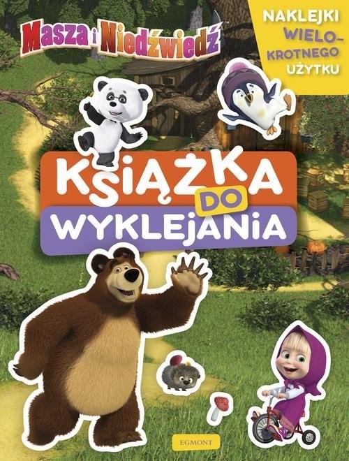 okładka Masza i Niedźwiedź Książka do wyklejaniaksiążka |  | Opracowanie zbiorowe