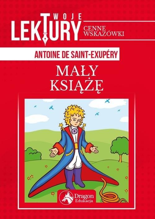 okładka Mały Książęksiążka      Antoine de Saint-Exupéry