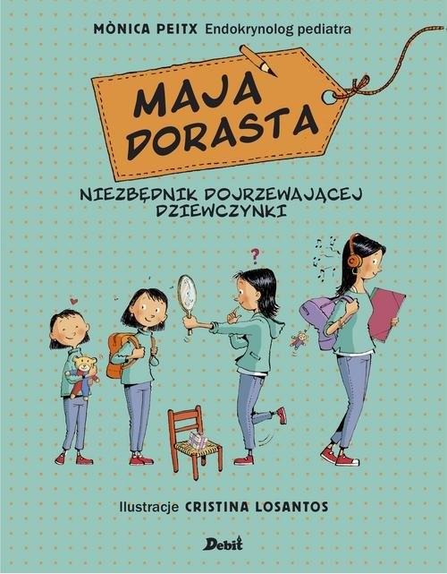 okładka Maja dorastaksiążka      Peitx Monica