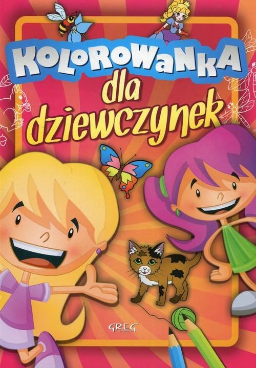 okładka Kolorowanka dla dziewczynekksiążka     