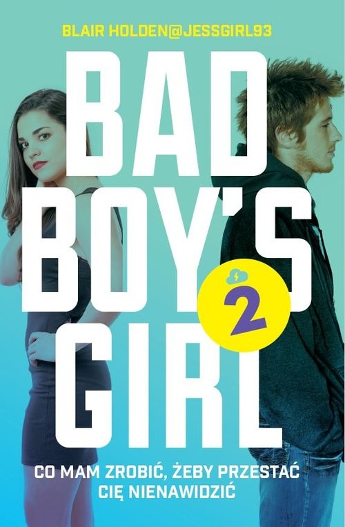 okładka Bad Boys Girl 2książka |  | Blair  Holden