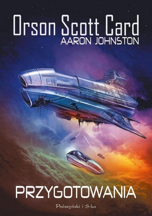 okładka Przygotowaniaksiążka |  | Orson Scott Card, Aaron Johnston