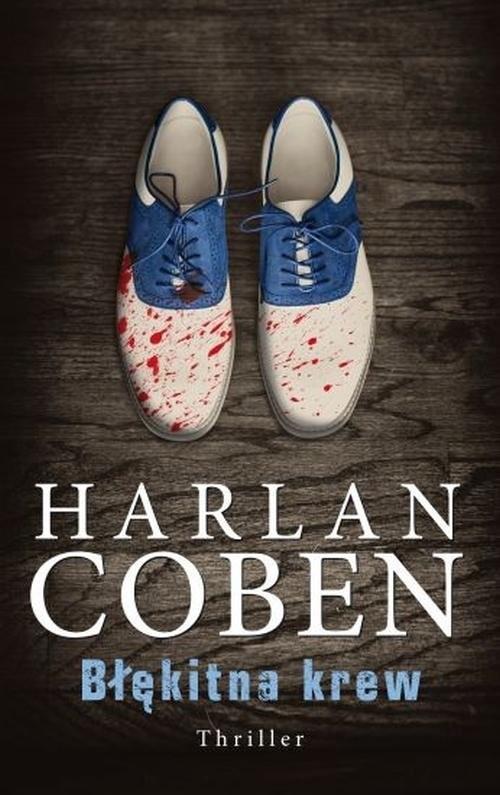 okładka Błękitna krewksiążka      Harlan Coben