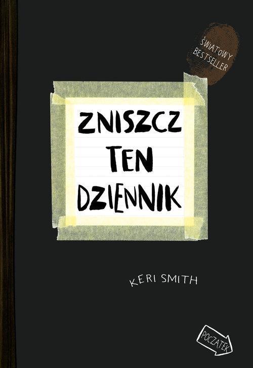 okładka Zniszcz ten dziennik książka      Keri Smith