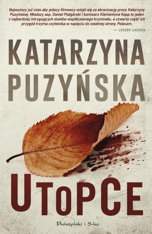 okładka Utopceksiążka      Katarzyna Puzyńska