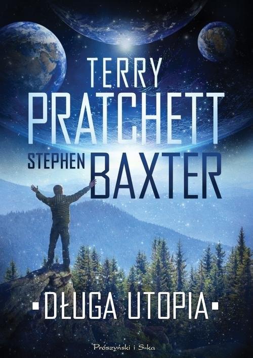okładka Długa utopiaksiążka      Stephen Baxter, Terry Pratchett