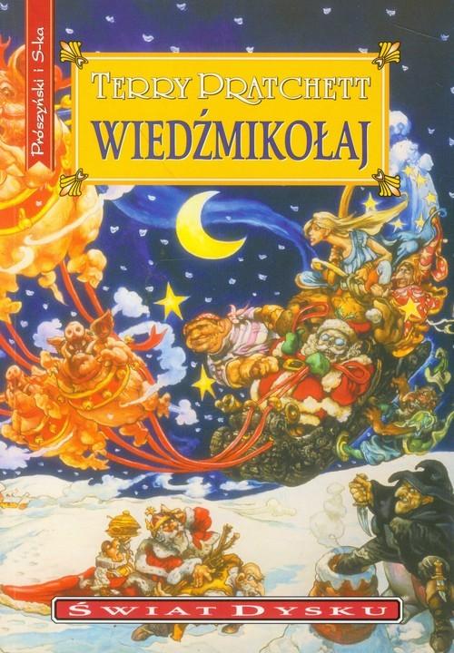 okładka Wiedźmikołajksiążka      Terry Pratchett