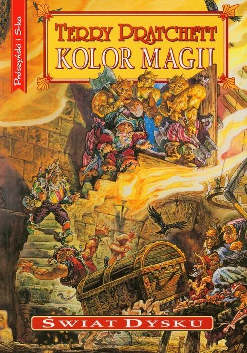 okładka Kolor magiiksiążka |  | Terry Pratchett