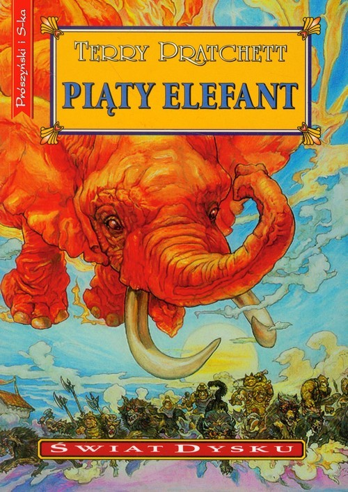 okładka Piąty elefantksiążka      Terry Pratchett