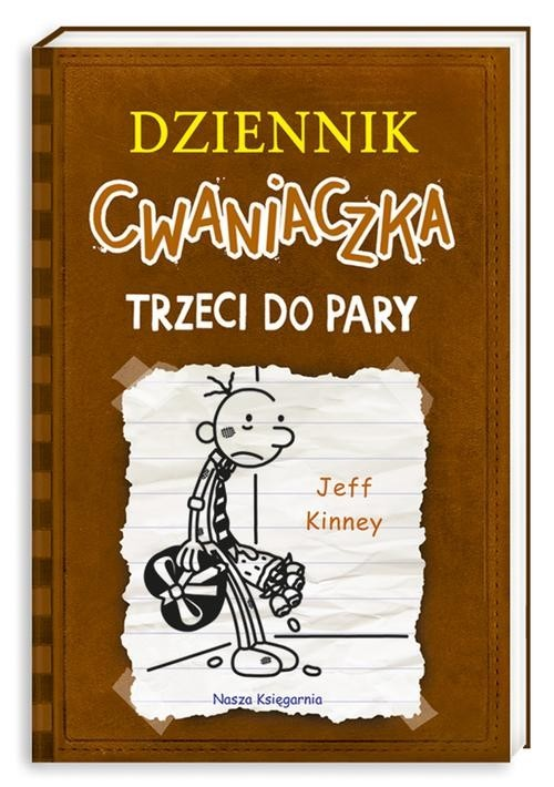 okładka Dziennik cwaniaczka 7. Trzeci do paryksiążka      Jeff Kinney