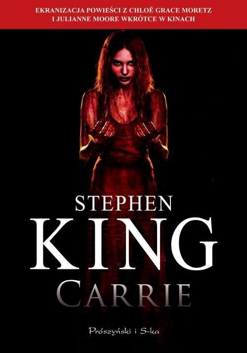okładka Carrieksiążka      Stephen King