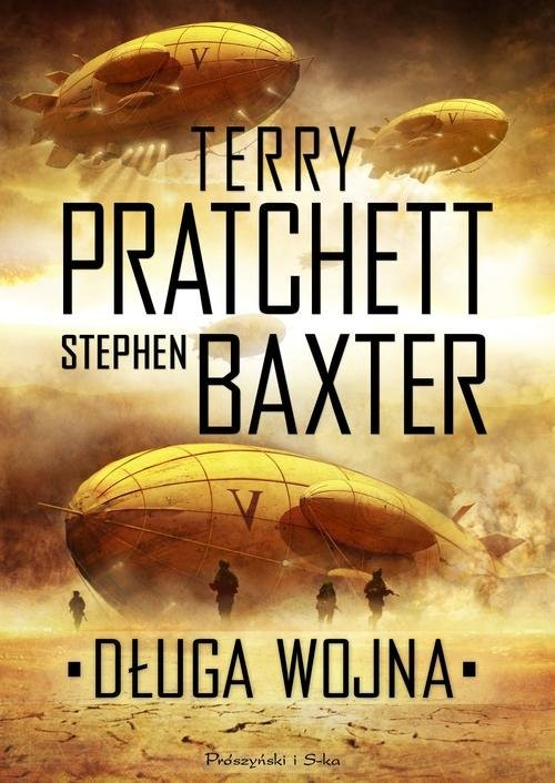 okładka Długa wojnaksiążka      Terry Pratchett, Stephen Baxter
