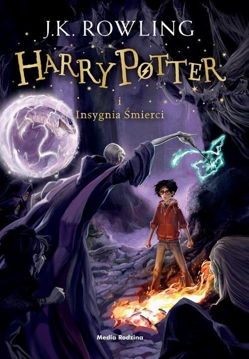 okładka Harry Potter i Insygnia Śmierciksiążka      K. Rowling Joanne