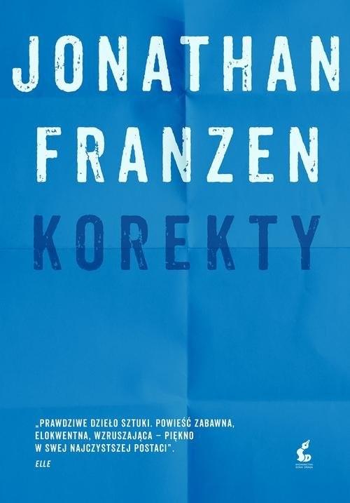 okładka Korektyksiążka      Jonathan Franzen