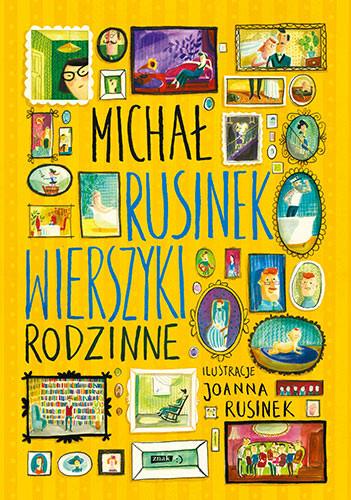 okładka Wierszyki rodzinneksiążka      Michał Rusinek
