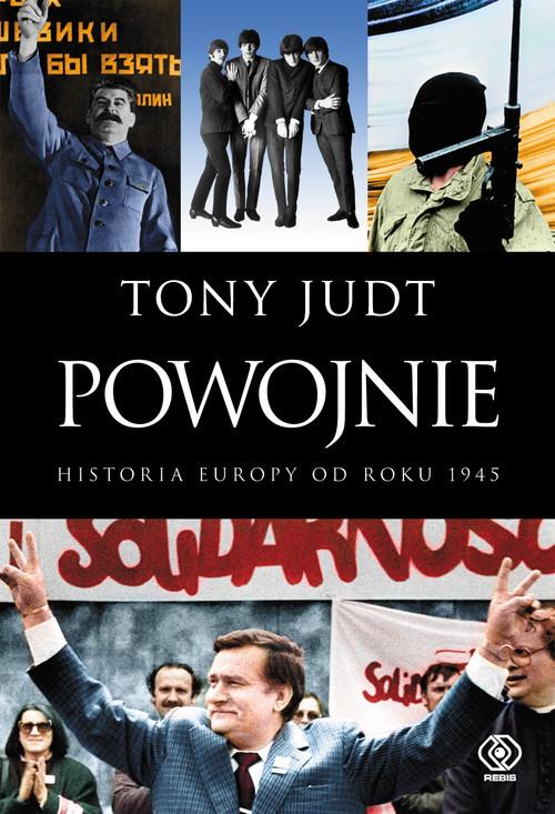 okładka Powojnie Historia Europy od roku 1945książka |  | Tony Judt