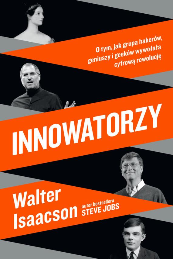 okładka Innowatorzyksiążka      Walter Isaacson