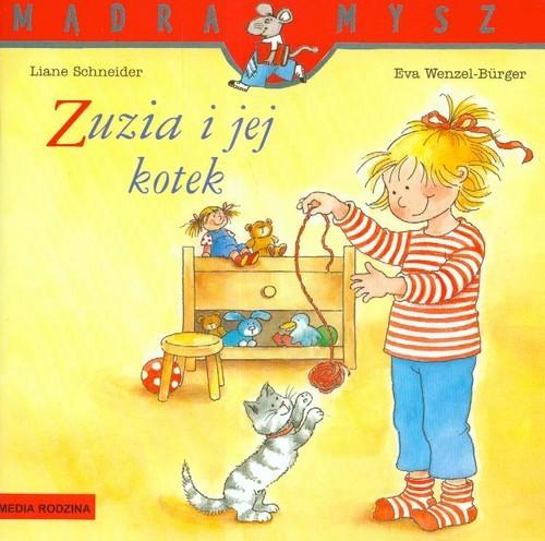 okładka Mądra mysz. Zuzia i jej kotekksiążka      Liane Schneider, Eva Wenzel-Burger