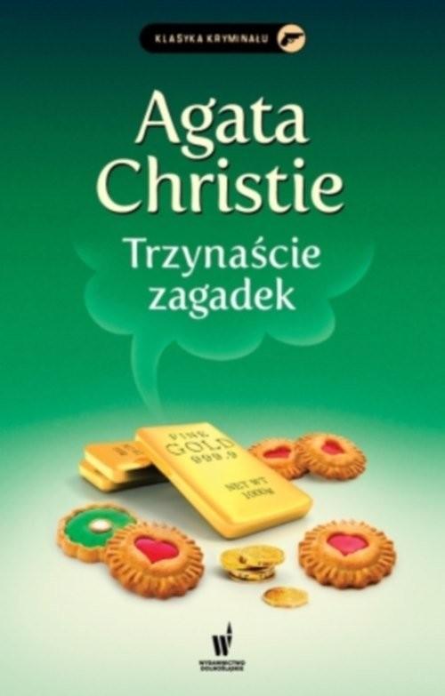 okładka Trzynaście zagadekksiążka      Agata Christie