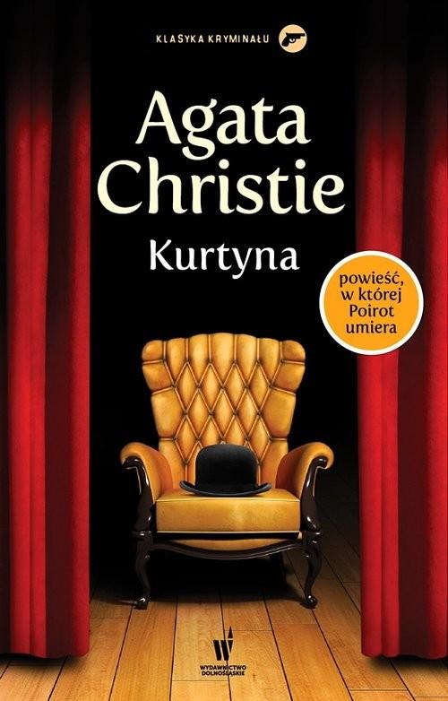 okładka Kurtynaksiążka      Agata Christie