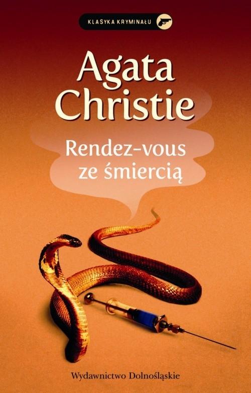 okładka Rendez-vous ze śmierciąksiążka      Agata Christie