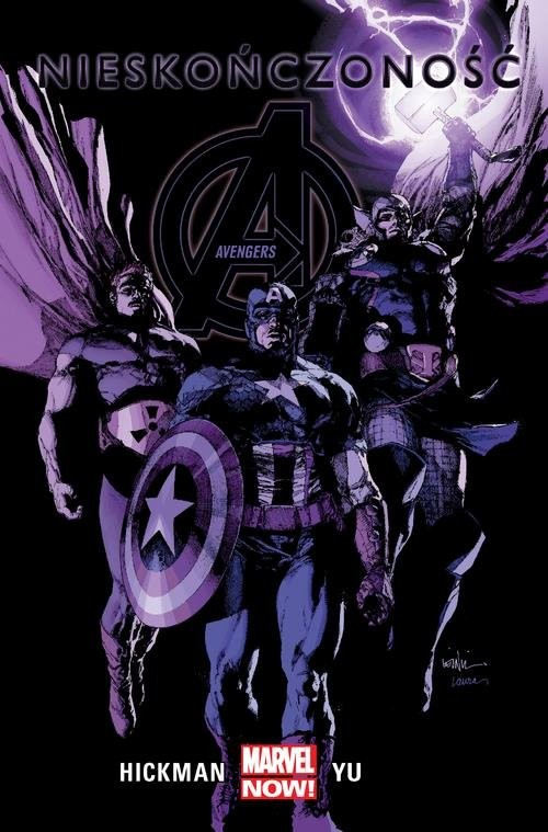 okładka Avengers Nieskończoność Tom 4książka |  | Jonathan Hickman